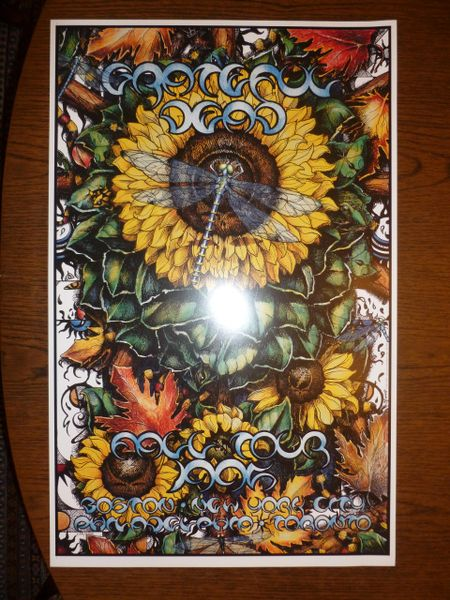 Grateful Dead Fall Tour 1995 poster