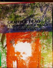Grateful Dead Rainforest Benefit 1988 - Robert Rauchenberg
