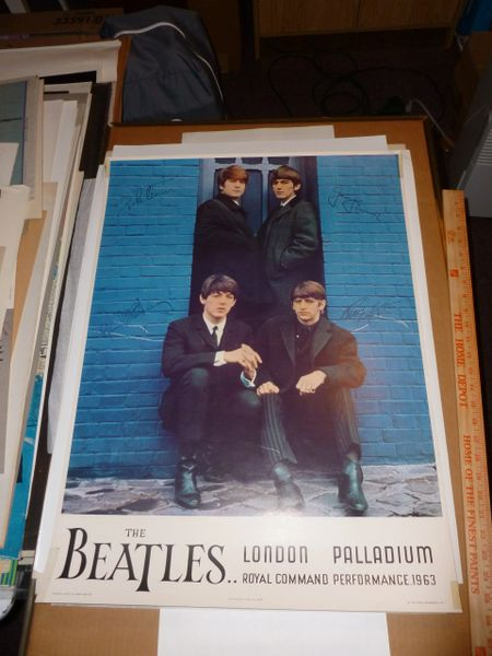 Beatles Command Performance vintage poster #2