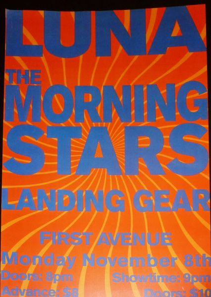 Luna and Morning Stars at Landing Gear