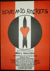 Love and Rockets at Fisher Auditorium