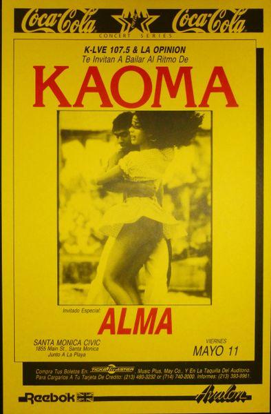 KAOMA and ALMA at Santa Monica Civic