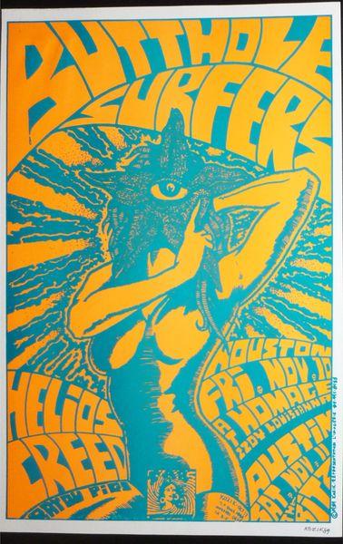 Butthole Surfers - Frank Kozik 1989