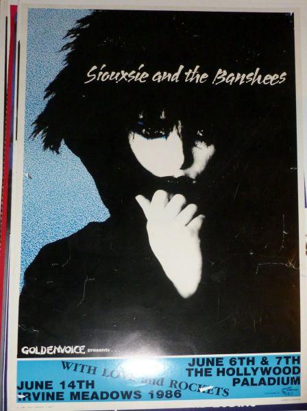 Siouxsie and the Banshees 1986 poster