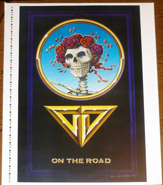Grateful Dead - On the Road 1978 poster