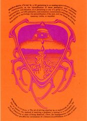 Psychedelic Solution (postcard) Rick Griffin