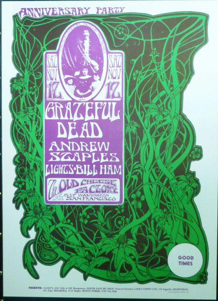 Grateful Dead at the Old Cheese Factory - reprint