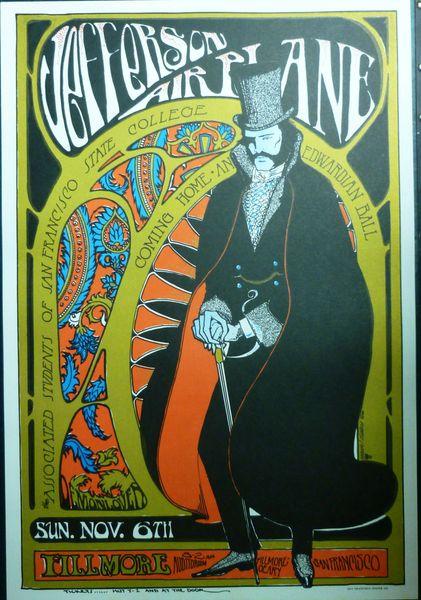 Jefferson Airplane - Fillmore 1966 - reprint