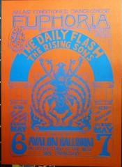 FD-07 Euphoria 1966 - reprint - Wes Wilson