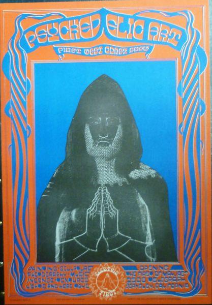 Psychedelic Art Show 1967 - reprint
