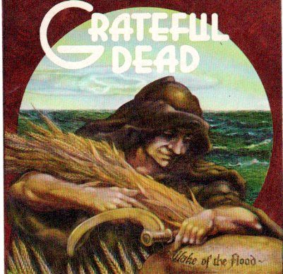 Grateful Dead Wake of the Flood sticker