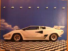 Lamborghini Countach poster 1994 Ron Kimball 1994