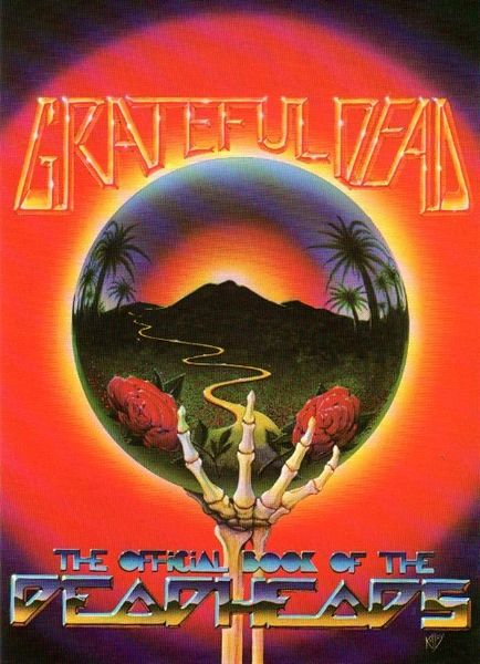 Grateful Dead - Official Book - handbill