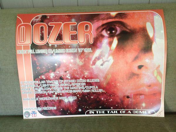 DOZER concert poster by Frank Kozik - signed