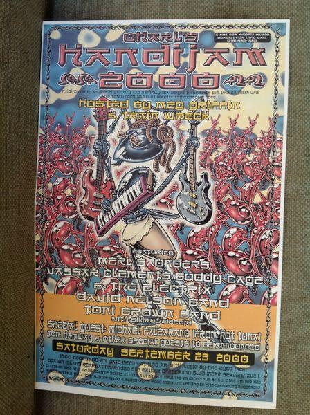 HANDIJAM - poster for music festival. 2000