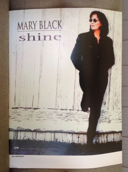 MARY BLACK - concert poster - SHINE