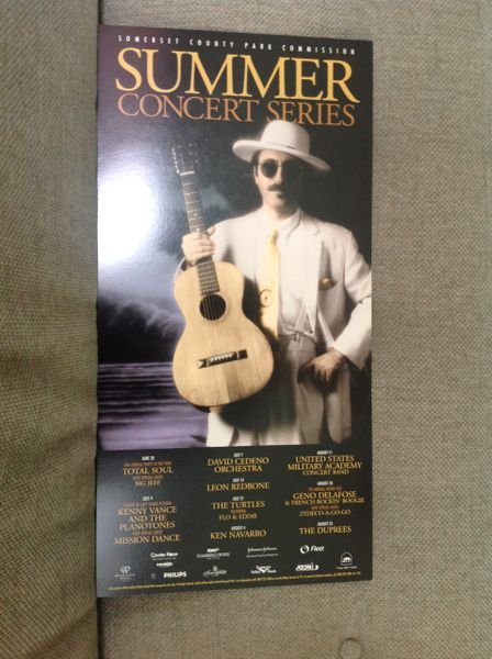 Leon Redbone at Somerset County parks