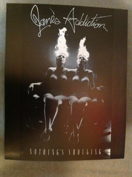 Jane's Addiction - Nothing's Shockingpromo poster