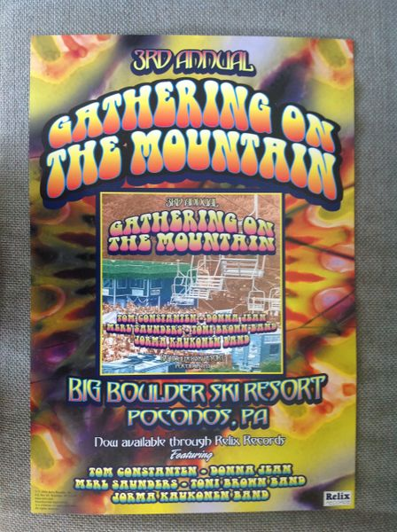 Gathering on the Mountain music festival 1999