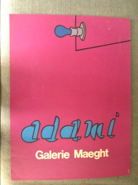 ADAMI at GALERIE MAEGHT