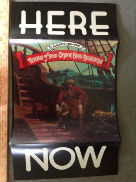 Rum Runners HERE NOW poster Rick Griffin