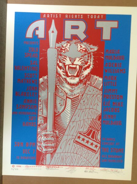 Artist Rights Today #2 SIGNED SILKSCREEN