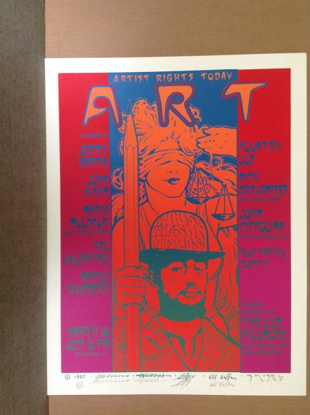 Artist Rights Today #3 SIGNED SILKSCREEN