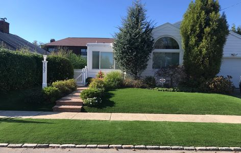 artificial grass residential turf, synthetic grass landscape grass, home, backyard, ny, nj, brooklyn