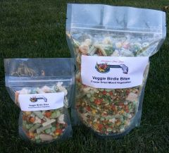 Veggie Birdie Bites-Freeze Dried Mixed Veggies