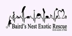 Baird's Nest Exotic Rescue