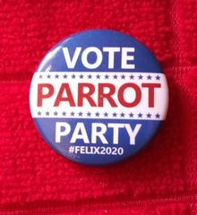 Vote Parrot Party Tracking Device