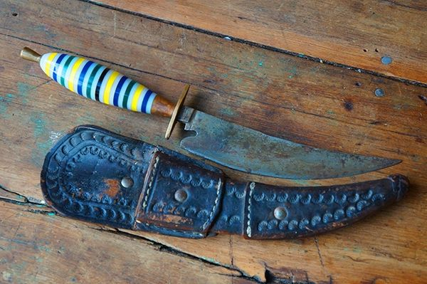 SOLD 1940's MEXICAN COWBOY DAGGER