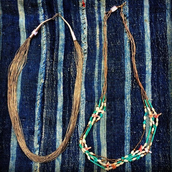 1970s PUEBLO TREASURE NECKLACE