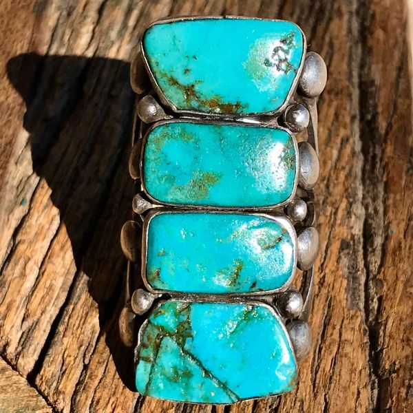 ANTIQUE TURQUOISE STONE REPLACEMENT or TIGHTENING for YOUR DAMAGED HEIRLOOM
