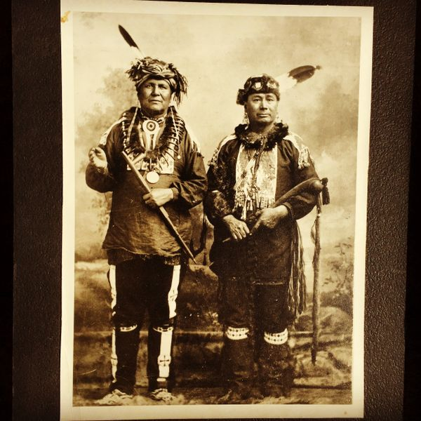 PONCA INDIAN CHIEFS