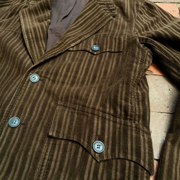 SOLD 100% CORDUROY JAPANESE VINTAGE REPRODUCTION WESTERN BLAZER SPORTS JACKET