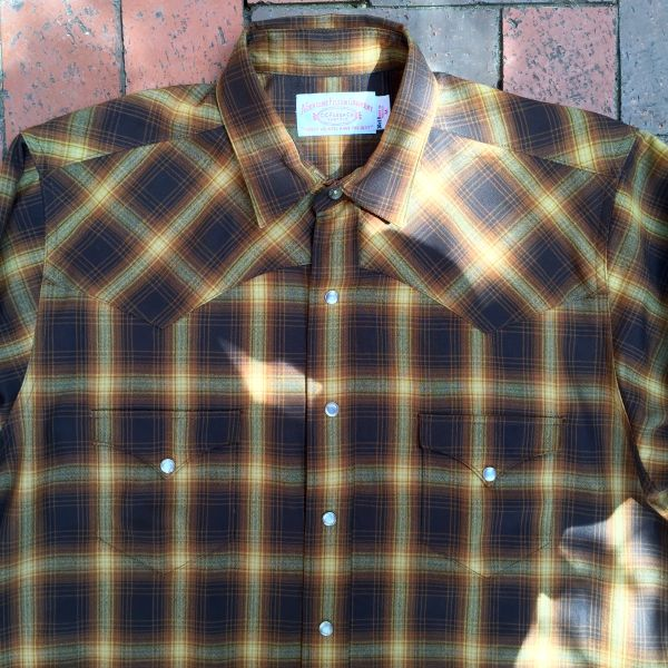 SOLD 1980s STAND & DELIVER VATO CHOLO FILSON WOOL PEARL SNAP WESTERN SHIRT