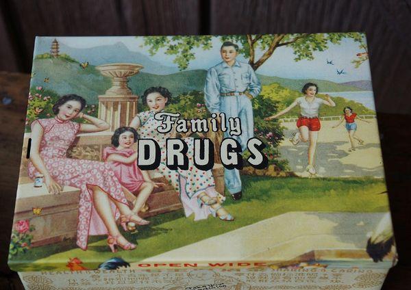 SOLD FAMILY DRUGS STASH BOX TIN