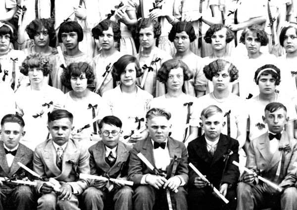 1927 HIGH SCHOOL CLASS 7th-12th Grades