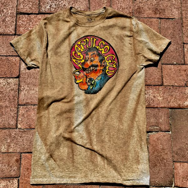 1970s ACAPULCO GOLD MEXICAN CHEEBA JOINT AGED BUT NEW COTTON TSHIRT