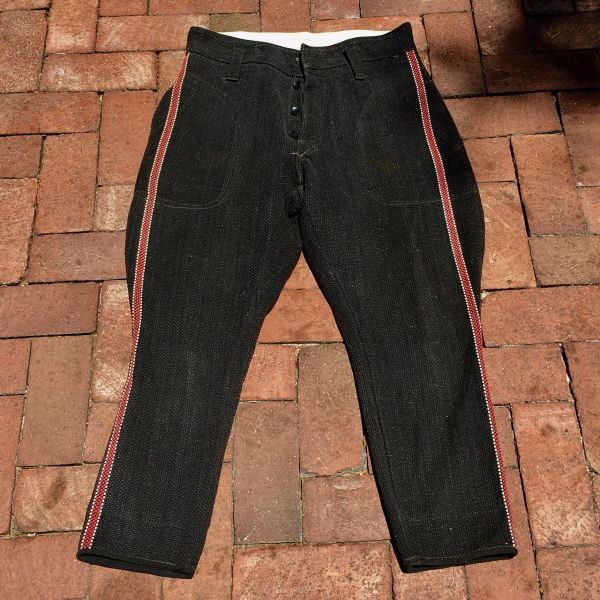 SOLD 1940s JAPANESE SHASHIKO FIREMAN'S PANTS