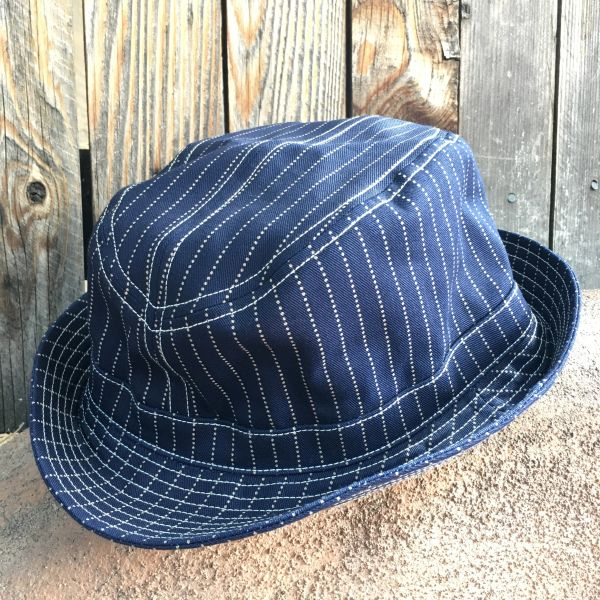 FREEWHEELERS JAPAN DENIM INDIGO WABASH FEDORA