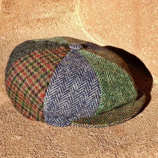 SOLD VINTAGE WOOL TWEED VARIETY NEWSBOY CAP