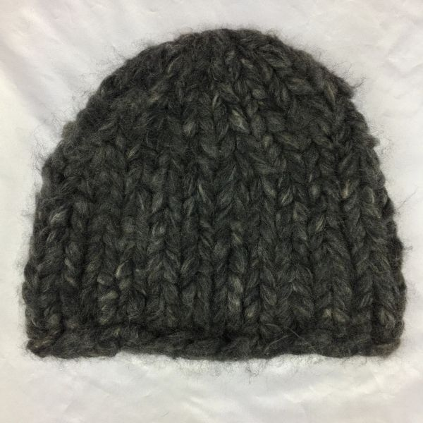 SOLD 100% CASHMERE CHUNKY GINORMOUS BEANIE CAP HAT HANDKINT IN NYC