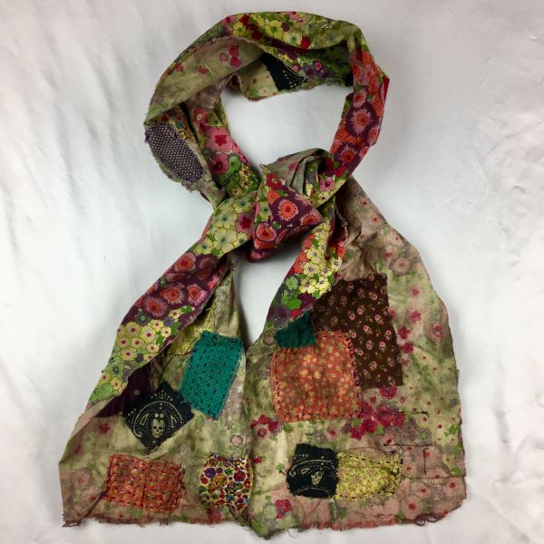 SOLD FILTHY FLORAL SCARF: THE LAST HIPPY ON THE COMMUNE