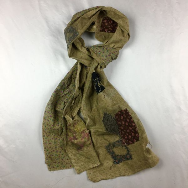 SOLD FILTHY FLORAL SCARF: LIL HOVEL ON THE PRAIRIE
