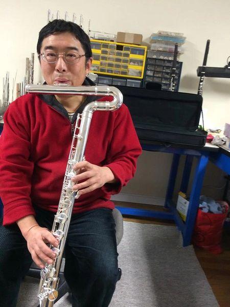 Di Zhao Vertical Bass Flute