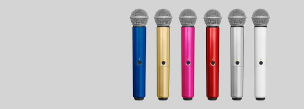 Shure WA713 Colored Handle