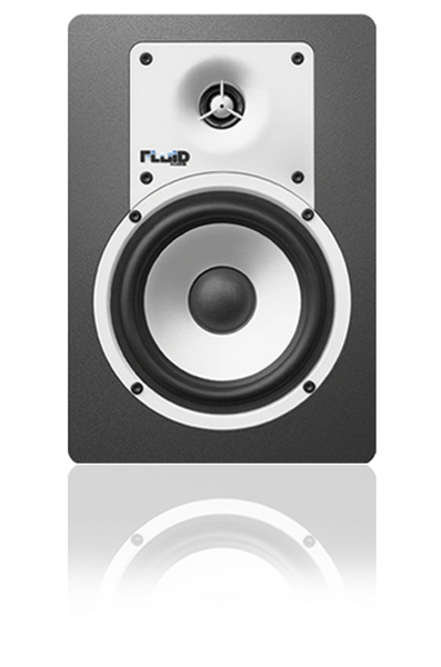 Fluid C5W Classic Series Monitor White -PAIR