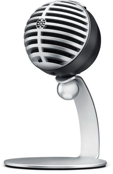 Shure MV5-LTG Motiv MV5 Digital Condenser Microphone (Grey)